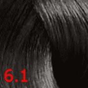 Купить Revlon, Перманентный краситель без аммиака Revlonissimo Color Sublime, 75 мл (51 оттенок) 6.1 темный блондин пепельный