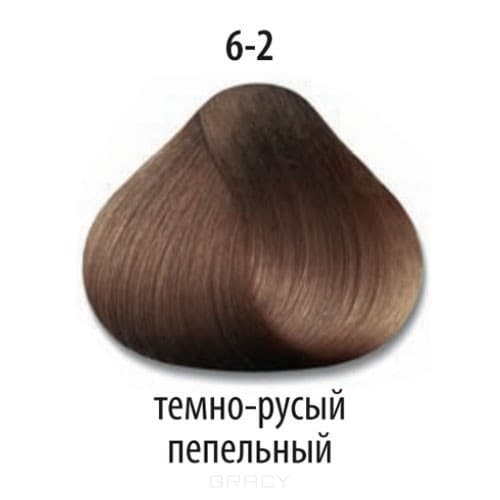 Constant Delight, Краска для волос Констант Делайт Trionfo (палитра 74 цвета), 60 мл 6-2 Темный русый пепельный constant delight крем краска delight trionfo 7 42 средний русый бежевый пепельный 60 мл