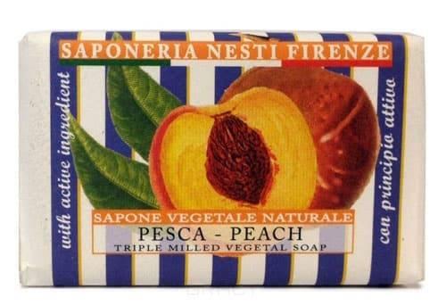 Мыло Персик Le Deliziose,150 грВеликолепное растительное мыло Nesti Dante &amp;amp;quot;Le Deliziose. Персик&amp;amp;quot; изготовлено по старинным рецептам и по традиционной котловой технологии, в составе мыла только натуральные оливковое и пальмовое масло высочайшего качества, для ароматизации использованы органические эфирные масла. Ежедневный ритуал красоты, любви и заботы не только для тела, но и для души.&#13;<br>&#13;<br>&amp;amp;quot;Le Deliziose&amp;amp;quot; - это вдохновение от романтического путешествия в итальянскую провинцию Тоскана. Живописные холмы с виноградниками, оливковые рощи, поля лаванды, радуют глаз сменой цветов и оттенков. Ароматы Тосканы витают в воздухе, и время будто бы останавливается в томной неге для полной релаксации и наслаждения моментом. Каждый кусок мыла истончает необычный и оригинальный аромат, ухаживает за кожей и дарит душевное равновесие.&#13;<br>&#13;<br>Персик тонизирует, смягчает и увлажняет кожу. Аромат персика - прекрасный антидепрессант, выводит из состояния равнодушия и апатии.<br>