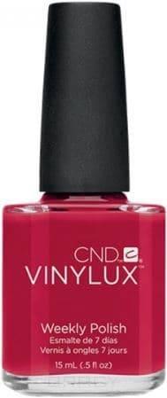 CND (Creative Nail Design), Винилюкс Профессиональный недельный лак VINYLUX™ Weekly Polish (54 оттенка) 15 мл # 143 (Rouge Red) cnd vinylux цвет 153 tinted love