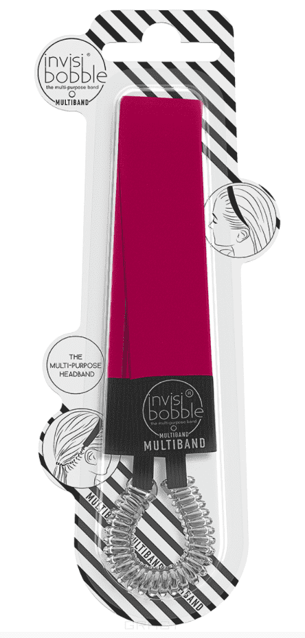 Invisibobble, Повязка для волос MULTIBAND Red-y To Rumble, 1 шт cnd creative play gel 412 red y to roll