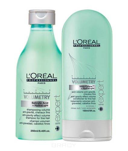 LOreal Professionnel, Набор для придания объема тонким волосам Volumetry, 250 + 150 мл.Наборы для ухода<br><br>