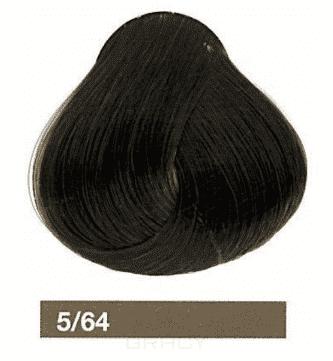 Lakme, Перманентная крем-краска Collage, 60 мл (99 оттенков) 5/64 Светлый шатен коричнево-медный eugene carmen ultime перманентная крем краска 3 темный шатен 60 мл