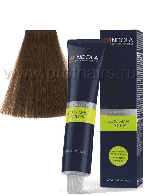 Indola, Zero Amm Стойкий краситель на маслной основе без аммиака, 60 мл (35 оттенков) 8-0 светлый русый натуральныйIndola Profession - окрашивание волос<br><br>