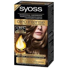 Syoss, Краска дл волос Oleo Intense, 115 мл (26 оттенков) 5-10 Натуральный каштановыйОкрашивание волос Syoss<br><br>
