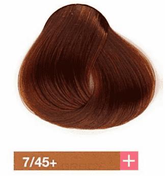 Купить Lakme, Перманентная крем-краска Collage, 60 мл (99 оттенков) 7/45+ Средний блондин интенсивный медно-махагоновый