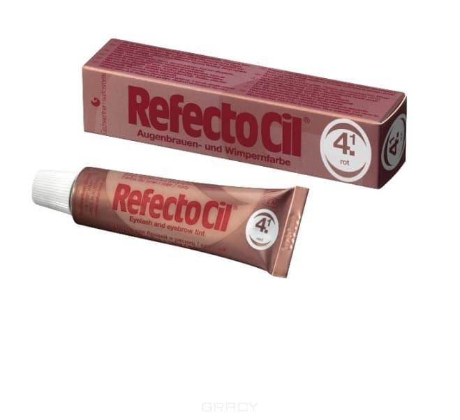 RefectoCil, Краска для бровей и ресниц, 15 мл (10 цветов) №4.1 Красный