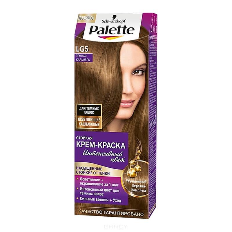 Schwarzkopf Professional, Краска для волос Palette, 50 мл (29 оттенков) LG5   Темная карамельОкрашивание<br><br>