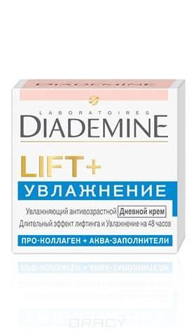 Diademine, Крем для лица дневной Lift + Увлажнение Антивозрастной от морщин, 50 мл diademine дневной крем для лица lift мгновенный эффект антивозрастной 50 мл