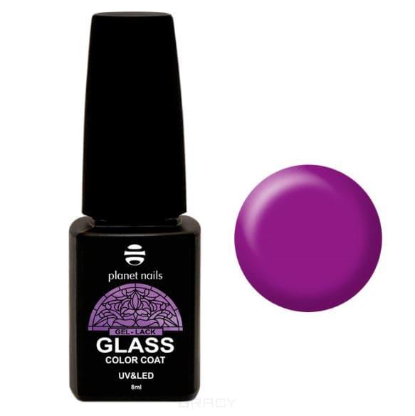 Planet Nails, Гель-лак GLASS (6 оттенков), 8 мл Гель-лак GLASS - 745 irisk гель лак odri macarons 87