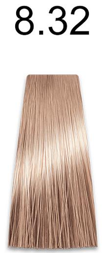 Купить Kaaral, Стойкая безаммиачная крем-краска с гидролизатами шелка Baco Soft Ammonia Free, 60 мл (42 оттенка) 8.32 светлый золотисто-фиолетовый блондин