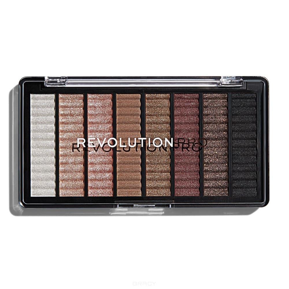 Купить Revolution Pro, Палетка теней Supreme Eyeshadow palette (4 вида), 8 оттенков, Captivate