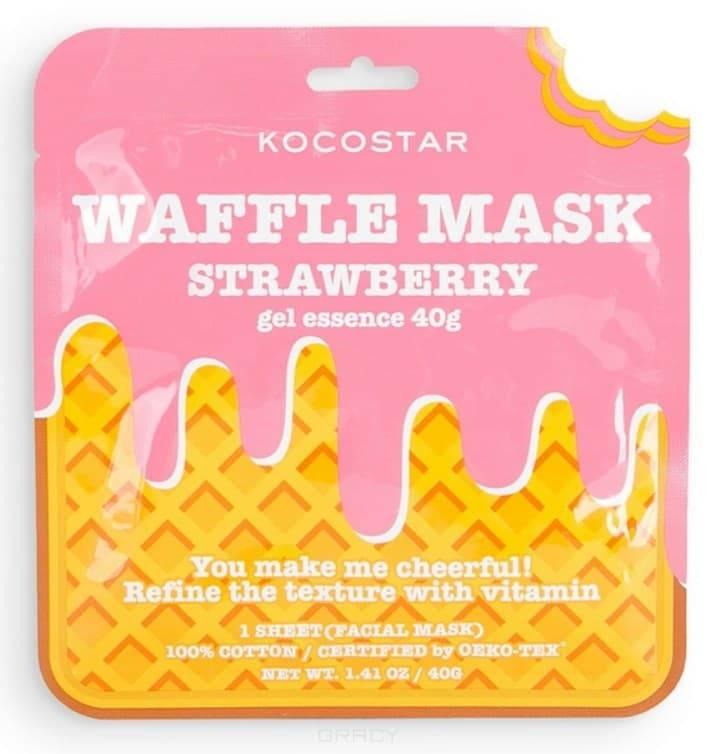 Фото - Тонизирующая вафельная маска для лица Клубничный фреш, 40 г почвогрунт селигер агро для клубники 5л