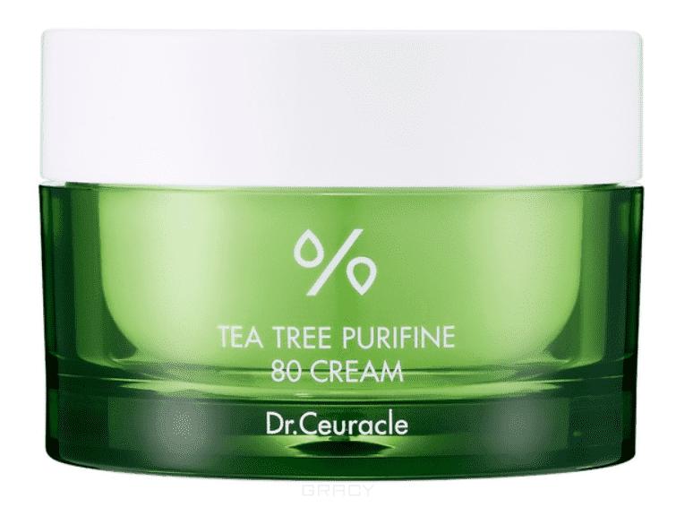 Dr.Ceuracle, Крем для лица с чайным деревом, увлажняющий Tea Tree Purifine 80 Cream, 50 г фото