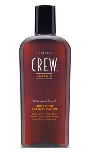American Crew, Текстурирущий лосьон Light Hold Texture Lotion, 250 млУкладка и стайлинг Американ Кр<br><br>