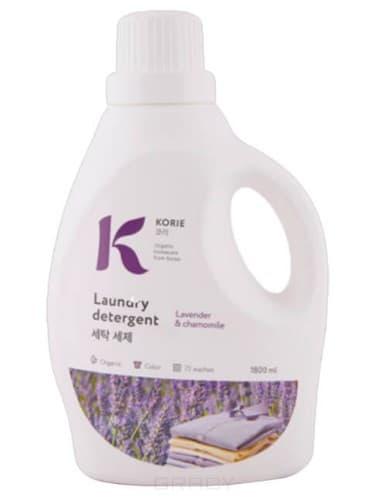 Korie, Laundry Detergent Lavender & Chamomile Средство для стирки Лаванда и ромашка, 1800 мл лаванда фенхель lavender fennel hem 6 шт