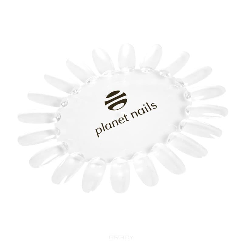 Палитра для лаков ромашка прозрачная с логотипом мелочи для макияжа manly pro прозрачная палитра на руку для смешивания косметики