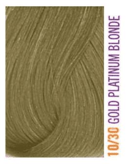 Купить Lakme, Крем-краска для волос тонирующая Gloss, 60 мл (54 оттенка) 10/30 Белокурый платиновый золотистый