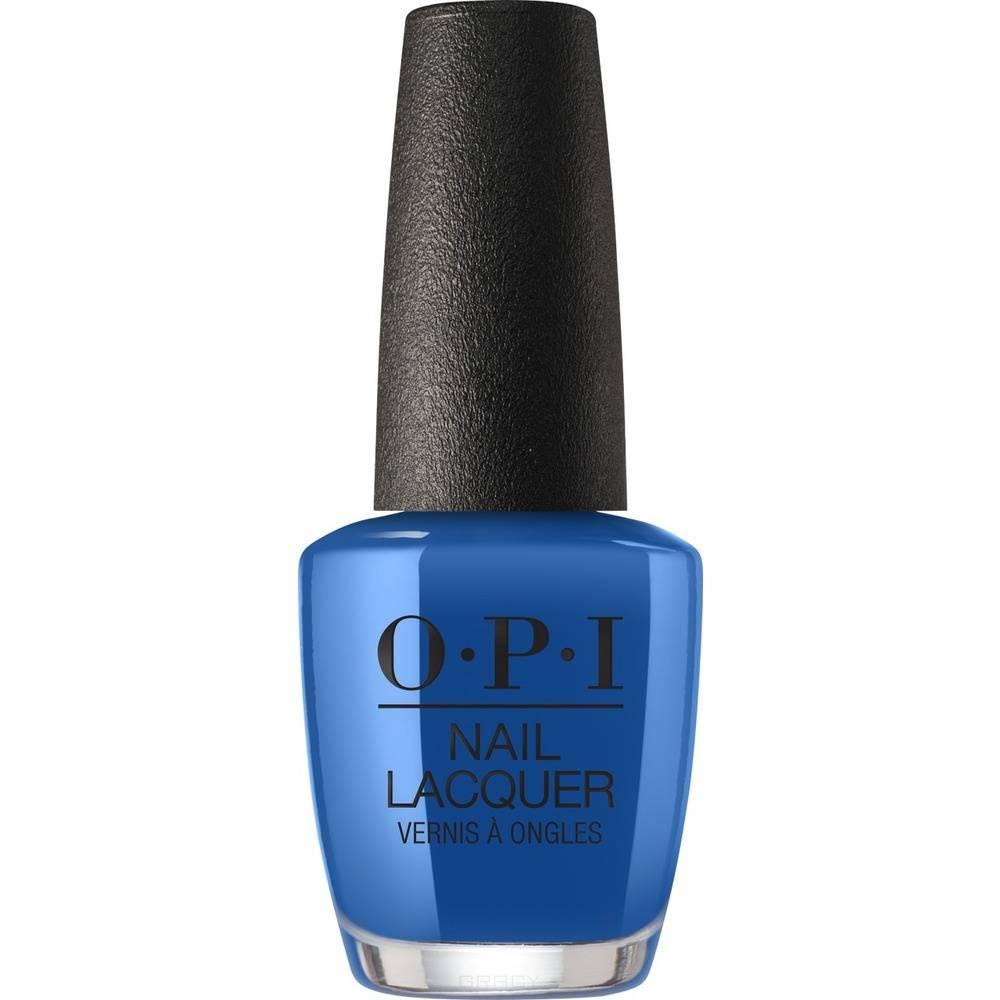 Купить OPI, Лак для ногтей Nail Lacquer, 15 мл (287 цветов) Mi Casa Es Blue Casa / Mexico City