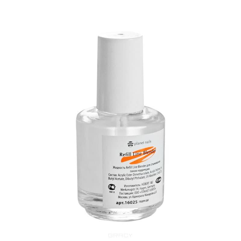Жидкость для сглаживания Refill Line Blender, 15 млИспользуется при коррекции искуственных ногтей в случае незначительных отслаиваний на границе искусственного материала и натурального ногтя. Также можно использовать для того , чтобы растворить границу перехода из типса в натуральный ноготь.&#13;<br>&#13;<br>  &#13;<br>&#13;<br>&#13;<br>Способ применения:&#13;<br>&#13;<br>Экономично распределите средство по линии перехода искусственного материала к натуральному ногтю. После применения, как обычно моделируйте ноготь.<br>