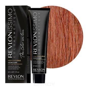 Revlon, Перманентный краситель для волос High Coverage, 60 мл (26 оттенков) 7.35 Янтарный блондин pu line style buckle high heel womens glitter sandals
