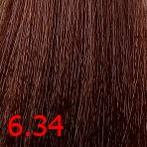 Купить Kaaral, Крем-краска для волос Baco Permament Haircolor, 100 мл (106 оттенков) 6.34 темный золотисто-медный блондин