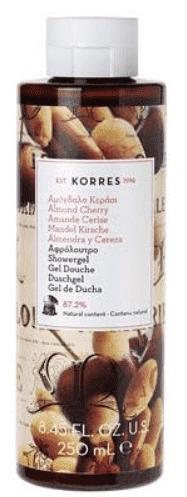 Korres, Гель для душа Миндаль и вишня, 250 мл l occitane гель для душа cedrat 250 мл