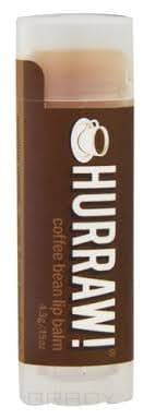 Hurraw, Бальзам для губ Кофе Coffee Bean Lip Balm hurraw бальзам для губ lime lip balm 4 3 г