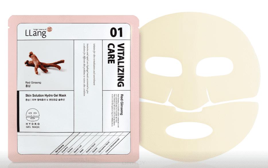 LLang, Гидрогелевая маска с экстрактом красного женьшеня Skin Solution Hydro Gel Mask (RedGinseng), 25 мл menschen a2 testtrainer mit cd