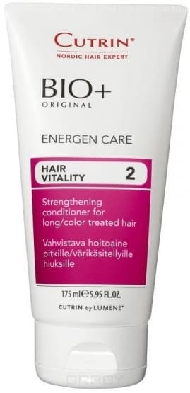 Cutrin, Бальзам-энергия для женщин Hair Vitality Energen Care, 175 млУход и лечение<br><br>