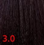 Купить Kaaral, Крем-краска для волос Baco Permament Haircolor, 100 мл (106 оттенков) 3.0 темный каштан