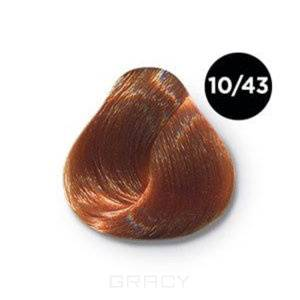 Купить OLLIN Professional, Перманентная крем-краска Ollin Сolor 60 мл ( 96 оттенков) 10/43 светлый блондин медно-золотистый