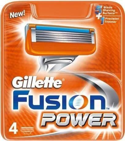 Gillette, Сменные кассеты для бритья Fusion Power, 2 шт недорого