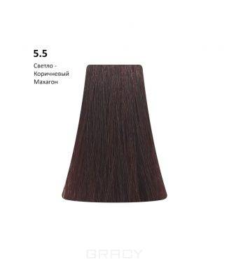 Купить BB One, Перманентная крем-краска Picasso Colour Range без аммиака (76 оттенков) 5.5Light Mahogany Brown/Светло-Коричневый Махагон