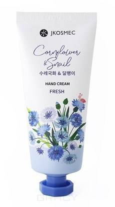 Купить Jkosmec, Крем для рук с экстрактом цветков василька и муцином улитки Cornflower & Snail Hand Cream, 100 мл