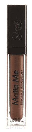 Sleek MakeUp, Блеск для губ Matte Me (17 тонов) Hazelnut Crush 1162 цена
