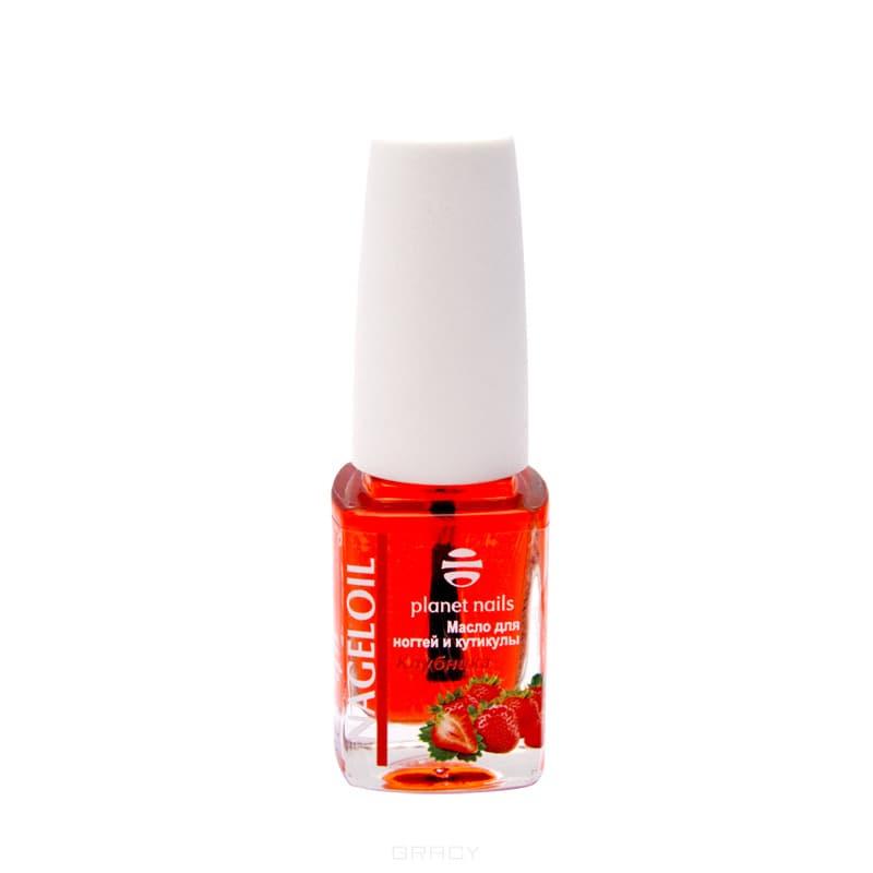 Planet Nails, Масло для ногтей и кутикулы Nageloil клубника, 11 мл Планет Нейлс planet nails масло для ногтей и кутикулы nageloil киви 75 мл