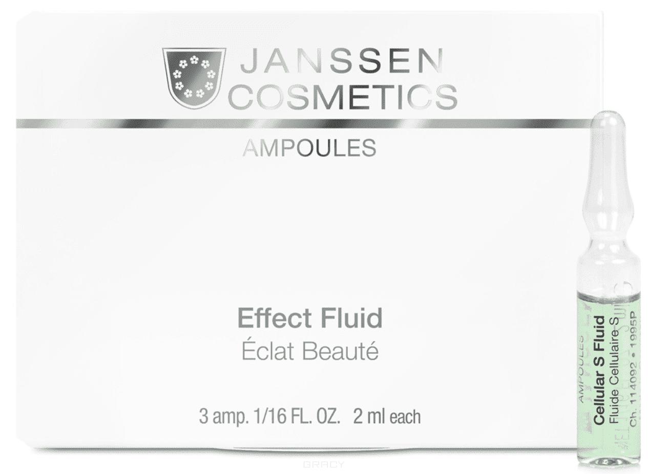 Janssen, Сыворотка в ампулах для клеточного обновления Stem Cell Fluid, 3х2 мл janssen cosmetics stem cell fluid сыворотка для клеточного обновления в ампуле 2 мл