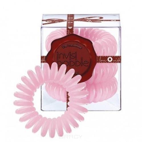 Резинка для волос нежно-розового цвета Candy Cane (3 шт.)Резинка-браслет Invisibobble   модный и стильный аксессуар, который всегда будет у вас под рукой. Invisibobble покорил многих девушек по всему миру своей функциональностью и яркостью палитры. С такой резинкой можно сделать множество интересных причесок и невозможно остаться незамеченной. &#13;<br>Резиночка Invisibobble устроена так, что не повреждает волосы Не оставляет следов перегиба на ваших волосах после применения Удобство использования при занятиях спортом или на отдыхе Резинка водоотталкивающая, легко снимается/надевается, в то же время крепко держит созданную прическу Восстанавливает свою изначальную форму Может использоваться как браслет Используя Invisibobble не возникнет ощущение головной боли, потому что она не тянет за собой отдельные волоски благодаря своей оригинальной форме.&#13;<br> &#13;<br>Подходит для всех типов волос<br>