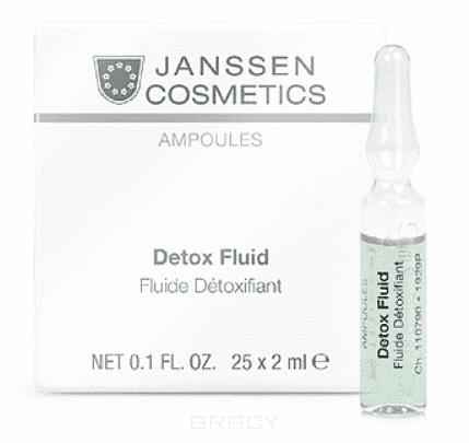 Детокс-сыворотка в ампулах Detox Fluid сыворотка в ампулах для клеточного обновления stem cell fluid