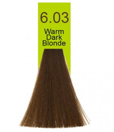 Купить Macadamia Natural Oil, Краска для волос Oil Cream Color, 100 мл (97 тонов) 6.03 Темный теплый блондин