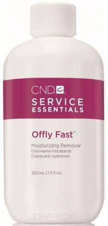 CND (Creative Nail Design), Питательная жидкость для удаления искусственных покрытий Offly Fast, 222 мл cnd creative play gel 412 red y to roll