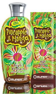 Supertan, Активатор загара Pineapple & Mango, 15 мл supertan сенсационный ускоритель загара в солярии с коллагеном и увлажняющим алоэ lemongrass