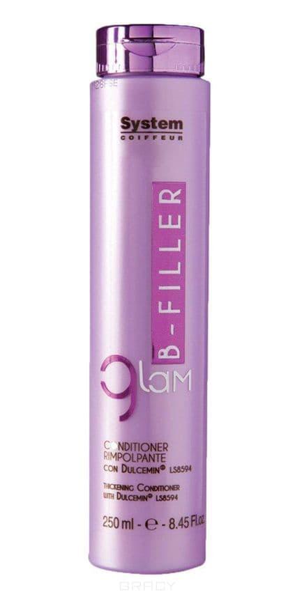 Dikson, Уплотняющий кондиционер для волос с комплексом Glam B-Filler Dulcemin LS8594, 250 млКондиционеры и бальзамы<br><br>