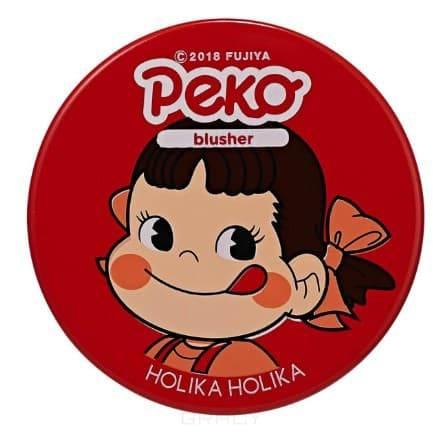 Купить Holika Holika, Peko Jjang Melty Jelly Blusher Желейно-кремовые румяна, 6 г (3 тона) Холика Холика, 6 г, 02, апельсин