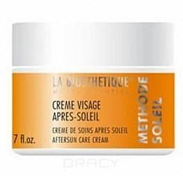 Успокаивающий увлажняющий крем для поврежденной солнцем кожи Methode Soleil Creme Visage Apres Soleil, 50 мл восстанавливающий кремкондиционер с уфзащитой для поврежденных солнцем волос 125 мл labiosthetique methode soleil