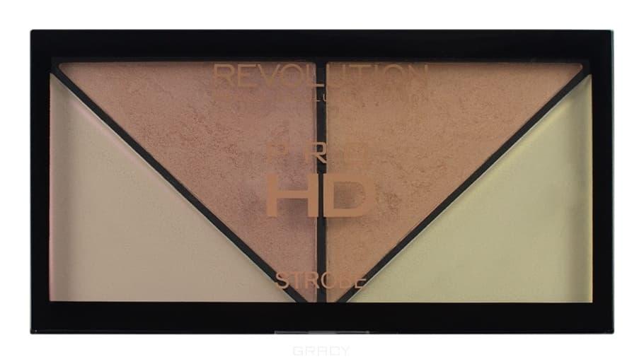 Купить MakeUp Revolution, Палетка хайлайтеров для стробинга HD Pro Strobe Revolution, 14 гр