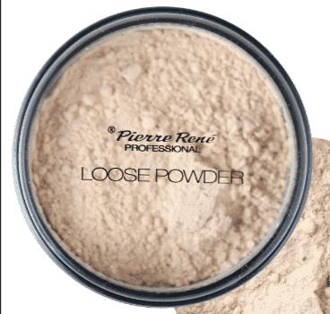 Pierre Rene, Транспарентная пудра на минеральной основе Loose Powder, 12 г (тон 3, натуральный)