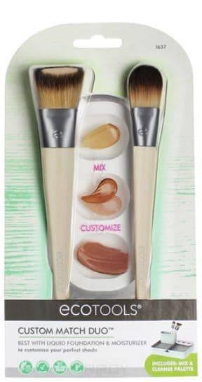 Ecotools, Набор кистей для макияжа Custom Match Duo цены