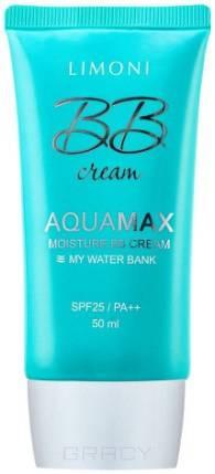 Купить Limoni, Увлажняющий ББ-крем для лица Aquamax Moisture BB Cream SPF25/PA++ (2 оттенка), 40 мл, тон 1